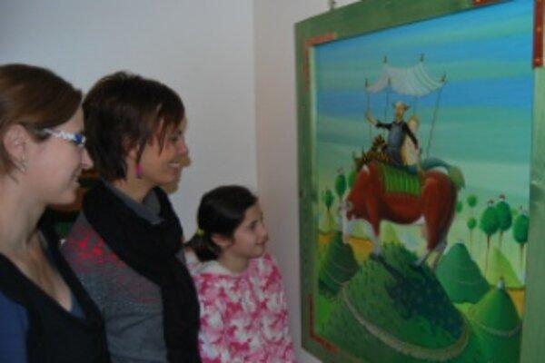 Vianočný salón je poslednou výtvarnou expozíciou v roku 2011