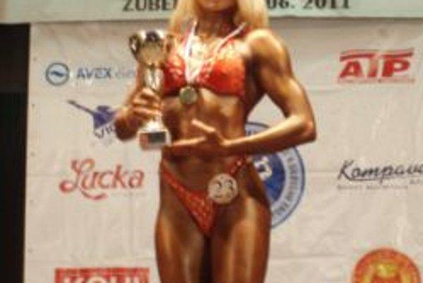 Adela Ondrejovičová zažiarili aj na MSR - juniorov v Zuberci.