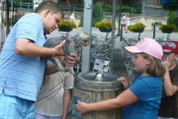 Návštevníci centra mesta sa tento rok z pitných fontánok neosviežia.