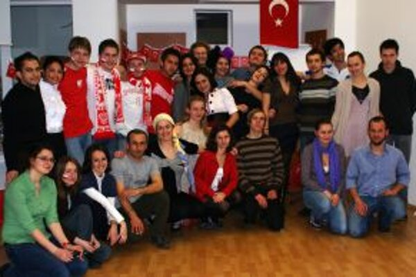 Na projekte sa zúčastnili mladí ľudia zo šiestich európskych krajín.