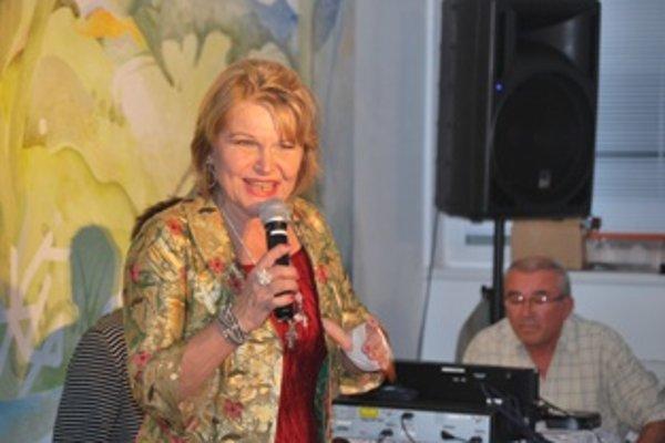 Jana Kocianová v trenčianskom Centre pre seniorov spievala ako v časoch najväčšej slávy.