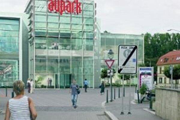 Aupark má vyrásť v tesnej blízkosti historického centra Trenčína