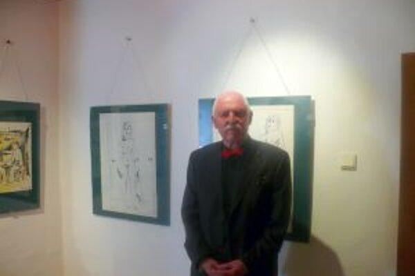 Július Činčár predstavil svoju tvorbu v Katovom dome v Trenčíne