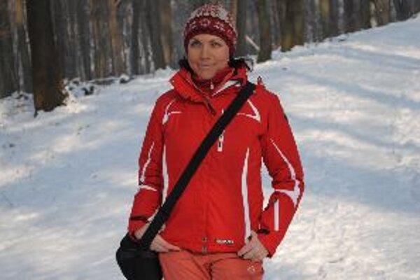 Yanina Šedivá hovorí, že na Slovensku zimu ani nemáme.