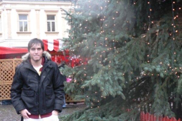Tohtoročné Vianoce trávi futbalový legionár David Depretis doma v Argentíne.