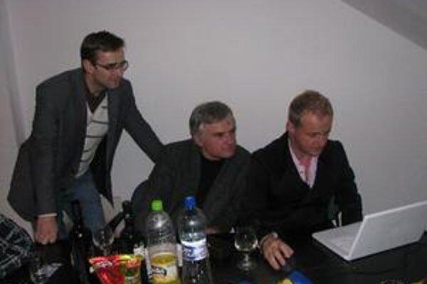 Martin Fedor na centrále SDKÚ.