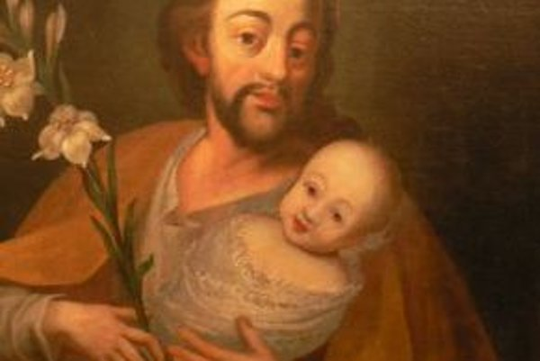 Obrazy vystavené v Župnm dome pochádzajú z rozsiahlej zbierky rodu Ilešháziovcov.