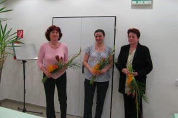 Ocenené boli aj sestričky Anna Jurajová, Lýdia Kavická a Anna Robotová.