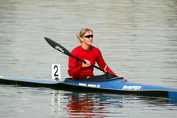 Rýchlostná kanoistka Ivana Kmeťová.