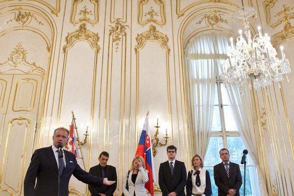 Ilustračné foto z pracovnej diskusie prezidenta SR Andreja Kisku so zástupcami sudcov a mimovládnych organizácií v septembri 2014.
