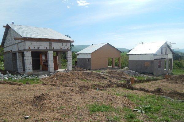 Rómovia si v Rankovciach postavili domy sami.