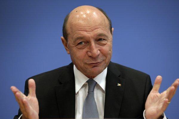 Traian Basescu.