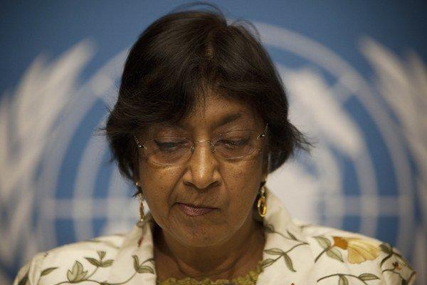 Vysoká komisárka pre ľudské práva Navi Pillayová.