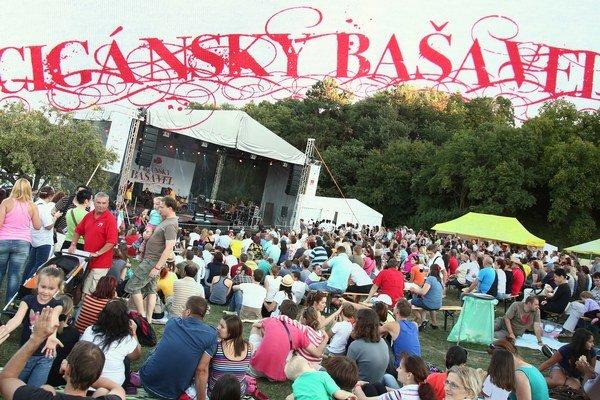 Atmosféra na festivale Cigánsky Bašavel