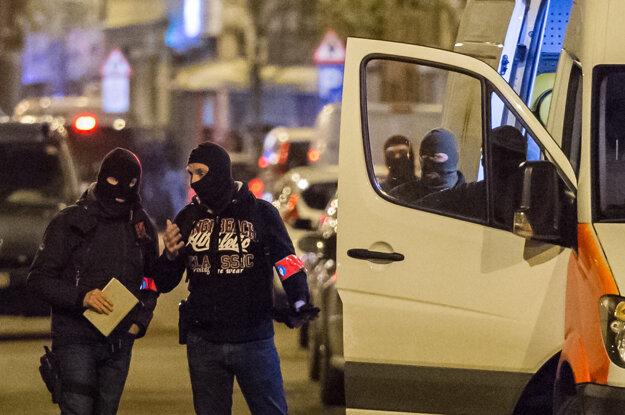 K zadržaniu Abriniho došlo v prevažne imigrantskej bruselskej štvrti Anderlecht