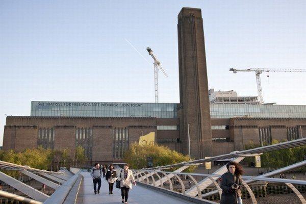 Galéria moderného umenia Tate Modern v Londýne.