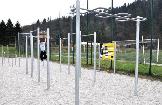 Workout ihrisko, je zatiaľ posledný úspešný projekt podpory športu.