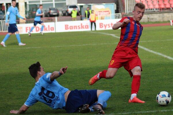 Maroš Balko v zápase proti FC Nitra.