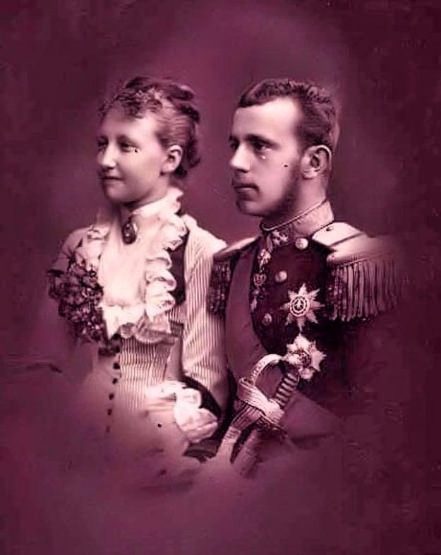 Štefánia a Rudolf.