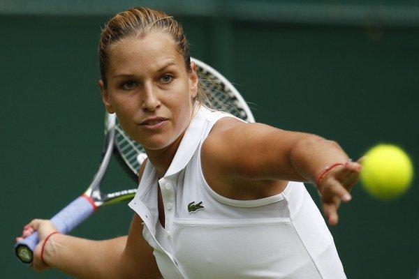 Cibulková bola vo finále pokojnejšia než jej talianska súperka.