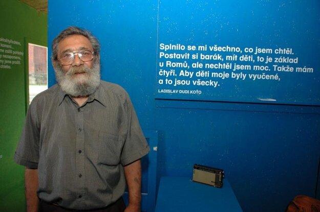 Ladislav Ďuďi Koťo je jedným z pamätníkov, ktorý sa zapojil do projektu Khatar san?