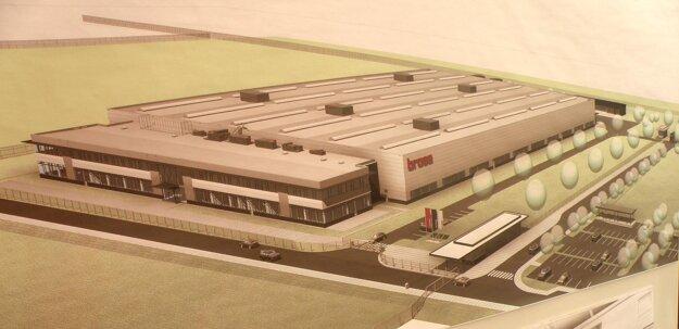 Takto bude vyzerať závod firmy Brose v Prievidzi.