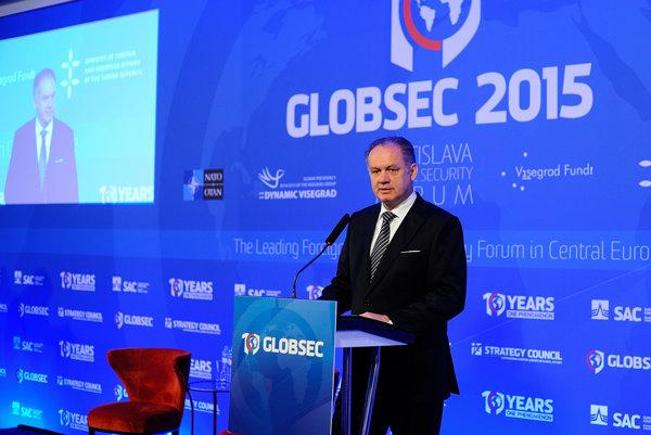 Na konferencii vystúpil aj slovenský prezident Andrej Kiska.