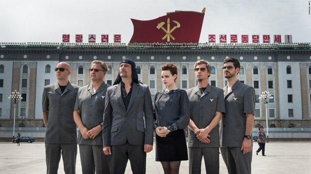 Počas vlaňajšieho pobytu v Severnej Kórei.