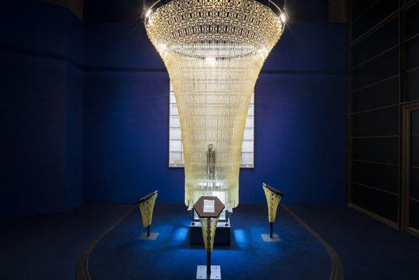 3D inštalácia Co(de)factory bola vystavená v londýnskom kultúrnom centre Barbican v rámci Google DevArt &Digital revolutions Exhibiton.