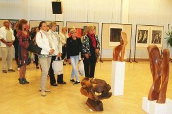 Výstava v KOS potrvá do 22. októbra.