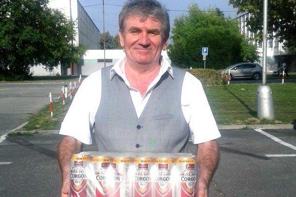 Kartón piva Corgoň od spoločnosti Heineken pred týždňom vyhral Jozef Moder z Nitry.