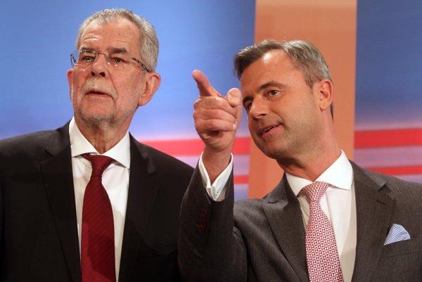 Alexander Van der Bellen a Norbert Hofer.