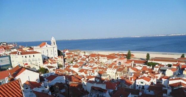 Jeden z výhľadov na Lisabon.