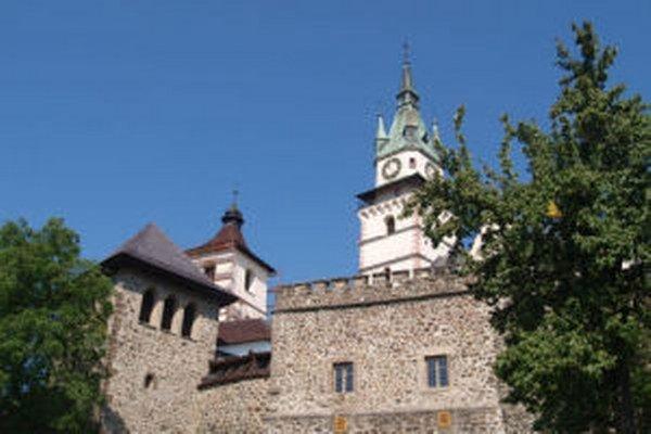 K priestorom múzea patrí aj areál Mestského hradu.