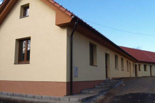 Komunitné centrum v Starej Kremničke dokončujú.