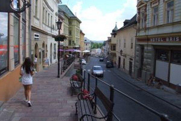 Banská Štiavnica je pre turistov atraktívna.
