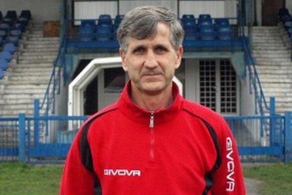Ľubomír Gábor - tréner, ktorý v jarnej časti vytiahol juniorku Pohronia z najhoršieho.