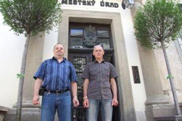 Jozef a Daniel majú pod dohľadom banskoštiavnický monitorovací systém.