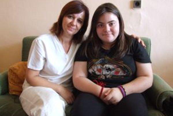 Venovala jej svoje básne. Sára s klinickou psychologičkou Evou Kapšovou.