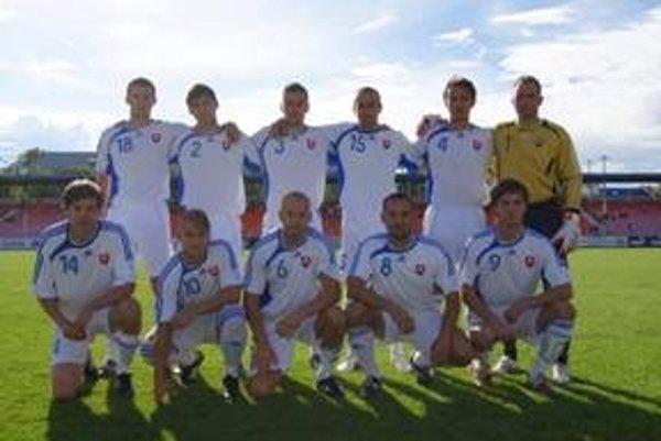 Výber SsFZ. Dolný rad zľava: Andrej Wolf, Filip Zvara, Ján Pinka a Michal Páleník.