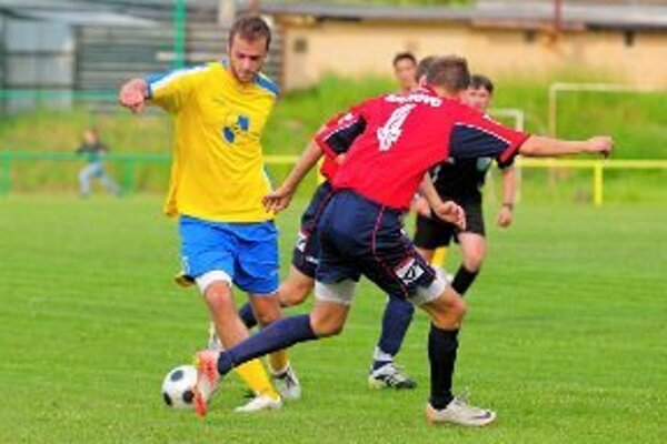Futbalistom Žiaru/L. Viesky na víťazstvo prevaha nestačila.