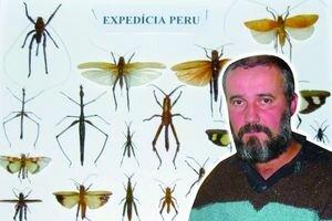 Vášeň pre hmyz má Michal Zachar od detstva. Už ako malý chlapec nosil domov chrobáky.