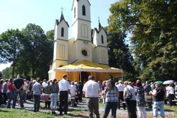 Hlinícka Kalvária oslávila 110 rokov.