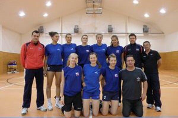 Reprezentačný tím počas prípravy na júlové Majstrovstvá sveta.