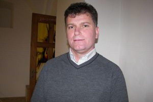 Dušan Lukačko. Bývalý náčelník mestskej polície je v súčasnosti banskoštiavnickým viceprimátorom.