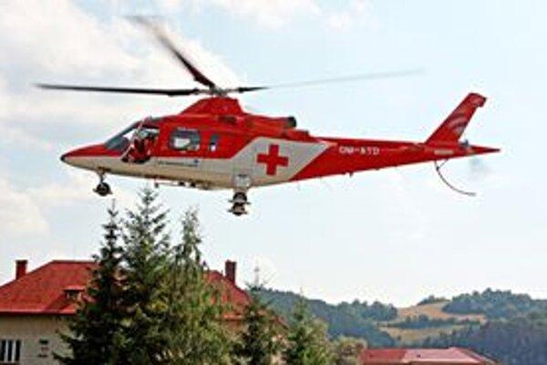 Na Skalke museli opäť zasahovať leteckí záchranári.