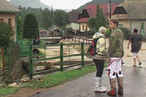 Augustové povodne ničili v žiarskom okrese cesty aj mosty.