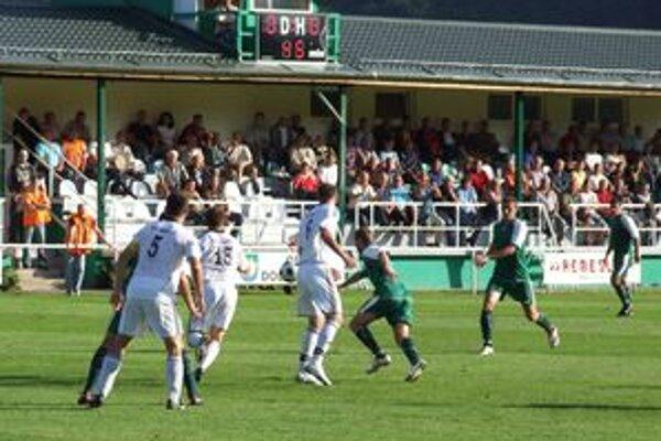 V prvom polčase gól nepadol. Páleník skóroval tesne pred koncom zápasu.
