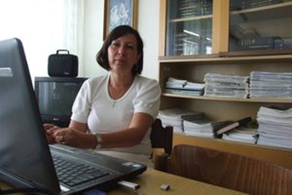 Epidemioligička Regionálneho úradu verejného zdravotníctva v Žiari nad Hronom Eva Striežová.