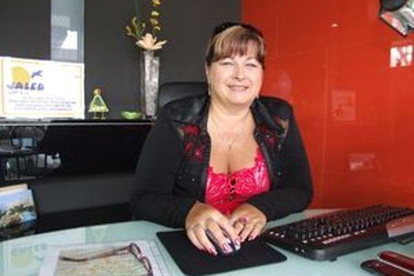 Majiteľka cestovnej kancelárie Galeb Eva Sklenárová.